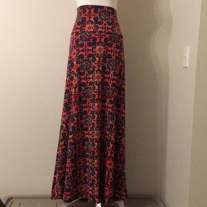 LulaRoe A-Line Long Maxi Skirt. Women's Size XL